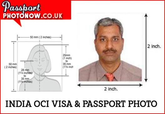 India OCI Visa Photos