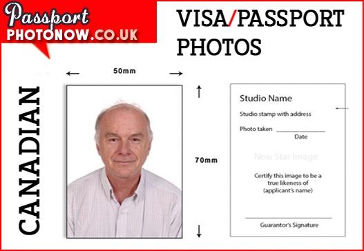 Canadian Passport Photos