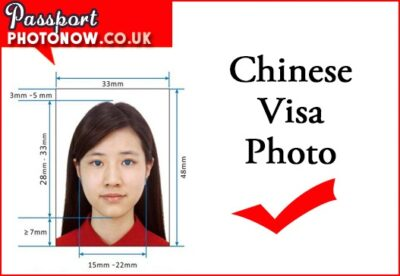 Chinese Visa Photos London