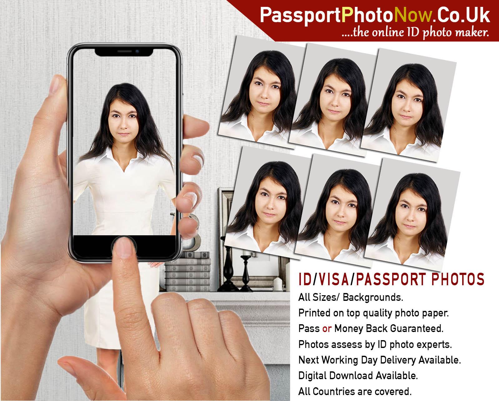 Make Passport Photos Online